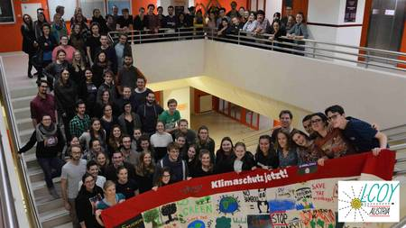 Gruppenfoto Österreichische Jugendklimakonferenz