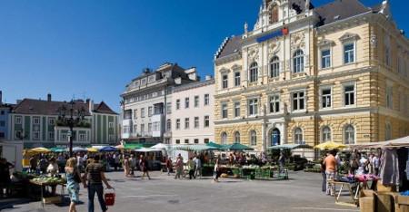 Neugestaltung Domviertel St Pölten