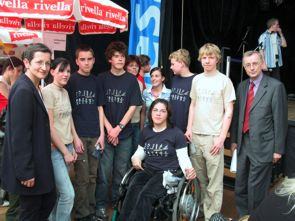 Gruppenfoto Jugenddeklaration Bodenseeregion