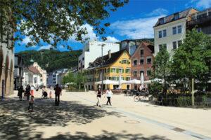 Neugestaltung des Bregenzer Kornmarktplatzes