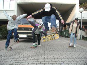 Skaten am Schöpfwerk